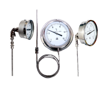 TEMPWELL make Gas Filled / Vapor Filled / Hg in Steel Filled Temperature gauges