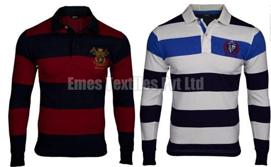 Mens Polo Full Sleeve T-Shirts Manufacturer in Erode Tamil Nadu ... f7871295e586