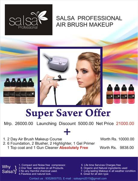 Airbrush Makeup Kit