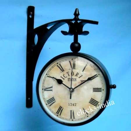 Antique Railway Clock From Roorkee