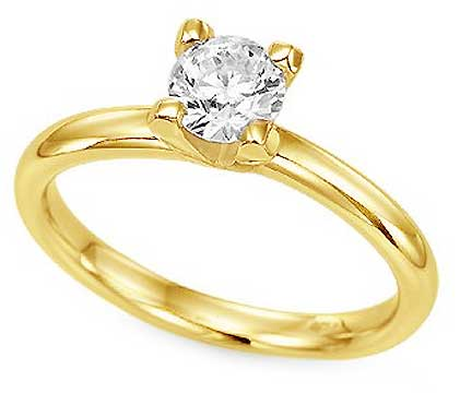 Solitaire Diamond Ring Ri