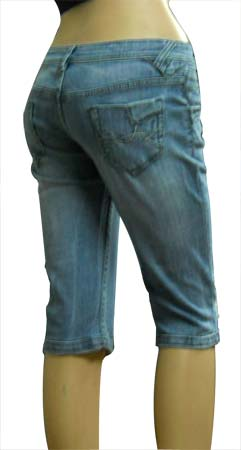 Buy Ladies Denim Capris Item Code : II-LDC-009 from Imelda ...