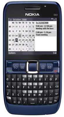 Nokia E63 Mobile Phone (Nokia E63 Mobile Pho)