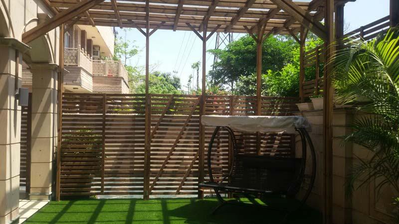 Buy Wooden Pergola From Tonsi Concept Ent New Delhi India Id