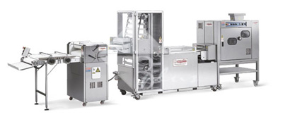 Automatic Production Line for Finger Roll Bread