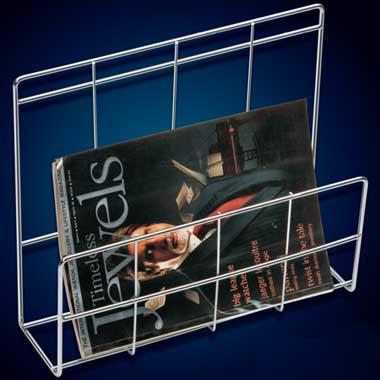 Stainless Steel Book Rack (Stainless Steel Book)