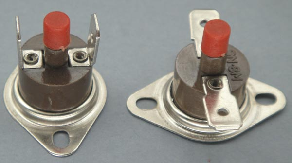 Manual Reset Thermostat ((sn-8m))