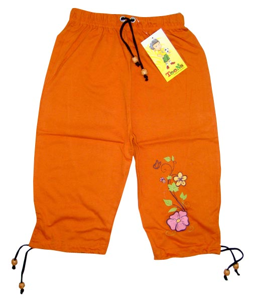 Girls Capris Manufacturer in Tirupur Tamil Nadu India by Amogh Fashions Art    ID - 441936