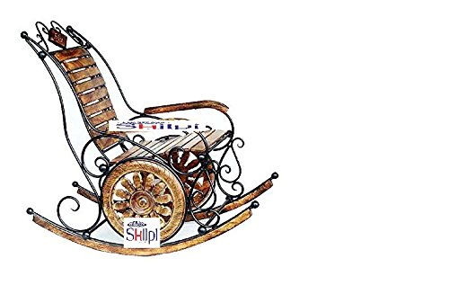 Awesome Shilpi Wood Rocking Chair Sch 47 Camellatalisay Diy Chair Ideas Camellatalisaycom
