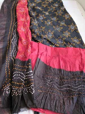 d29219f47a Bandhani Dress Material Manufacturer in Ahmedabad Gujarat India by ...