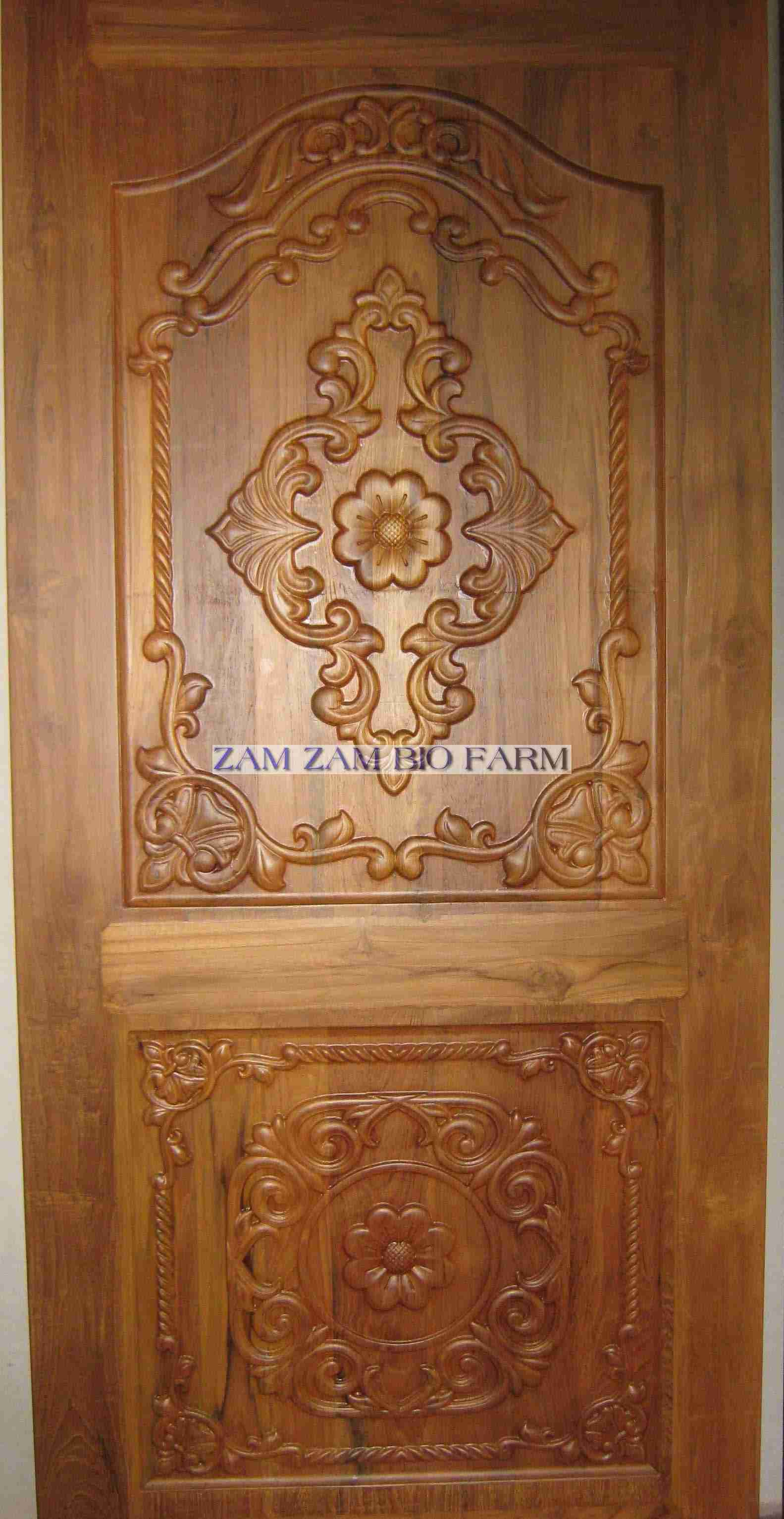 Burma teak doors manufacturer in erode tamil nadu india by Wooden main door designs in india