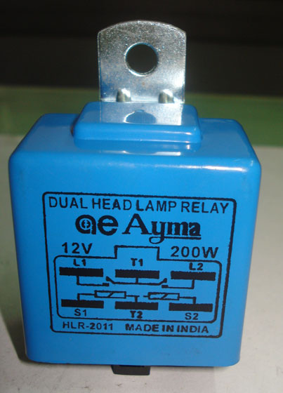 Automotive Dual Lamp Relay (Automotive Dual Head)