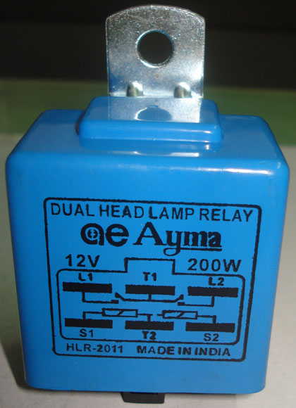 Dual Headlamp Relay (AE 1303)