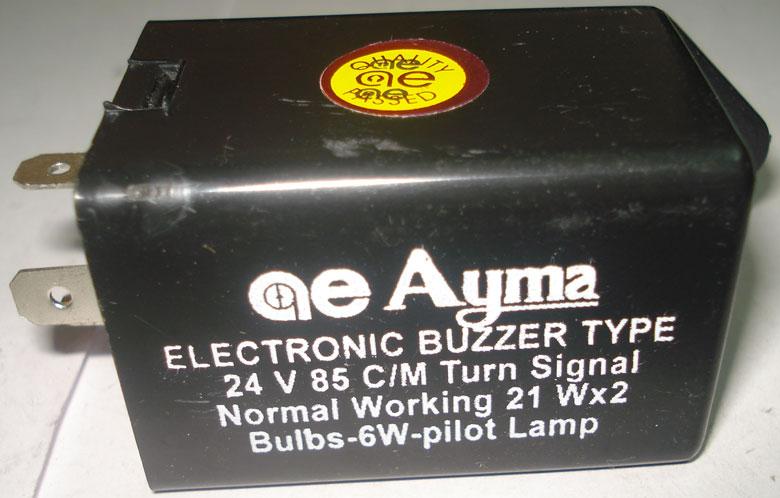 Flasher, Turn Indicator (FLASHER BUZZER TYPE)