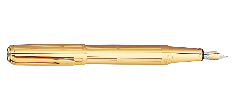 Exception Solid Gold Fountain Pen GT