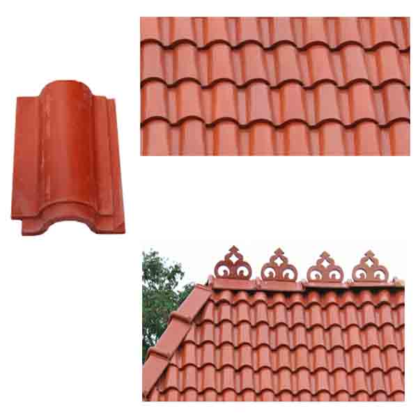 Red clay roof tiles manufacturer manufacturer from for Buy clay roof tiles online