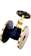 Bronze Wheel Global Valve
