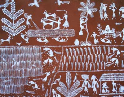 Farming painting warli paintings manufacturer in thane maharashtra farming painting warli paintings altavistaventures Image collections