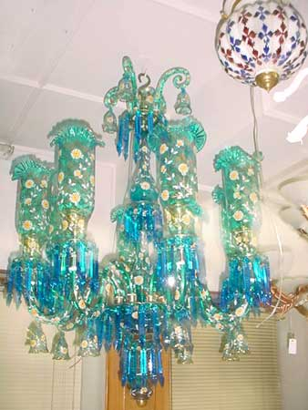 Antique chandeliers manufacturer in firozabad uttar pradesh india by antique chandeliers aloadofball