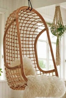 Buy Solid Cane Hanging Chair From Ravala Arts Amp Crafts