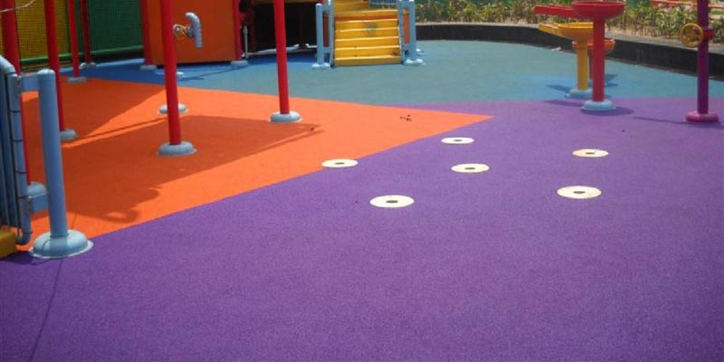 Buy Childrens Play Area Rubber Flooring From Sundek Sports Systems - Soft flooring for children's play area