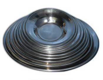 Buy Stainless Steel Soup Plates From Vinod Bartan Store