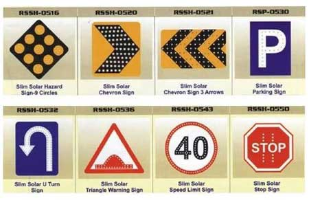 Buy Solar Traffic Signs From Reflective Fabrication