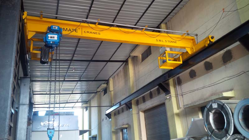 Overhead Crane Manufacturer In Surat Gujarat India By Rms