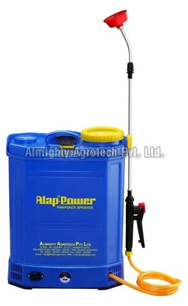 Battery Operated Alap Power Knapsack Sprayer (A.P.S.)