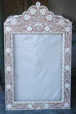 Mother Of Pearl Mirror Frame Manufacturer In Udaipur Rajasthan India