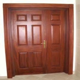 Wooden Double Doors Manufacturer In
