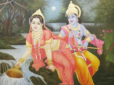 Buy Radha Krishna Painting From Navkar Creations Pune India