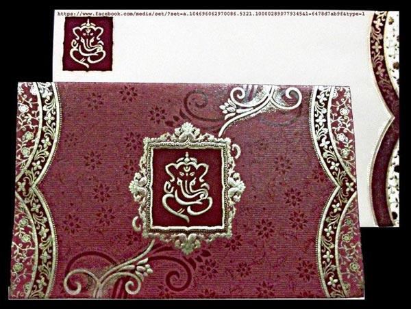 Indian Wedding Cards 03 Manufacturer Manufacturer from Navsari – All Indian Wedding Cards