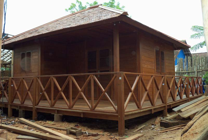 wooden house manufacturer in jogjakarta indonesia by jogja gazebowooden house (jg wh)