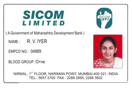Pvc Employee Id Card Manufacturer Inmumbai Maharashtra