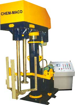 Twin Shaft Variable Speed Dispersers