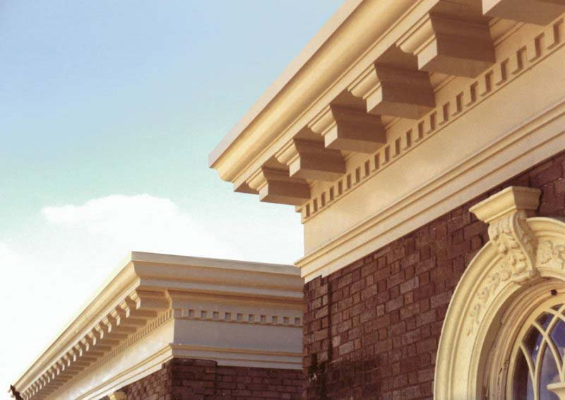 Brightways syndicate frp cornice manufacturer for Fiberglass crown molding
