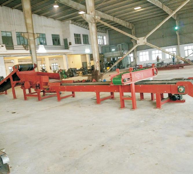 Cross Belt Magnetic Conveyor