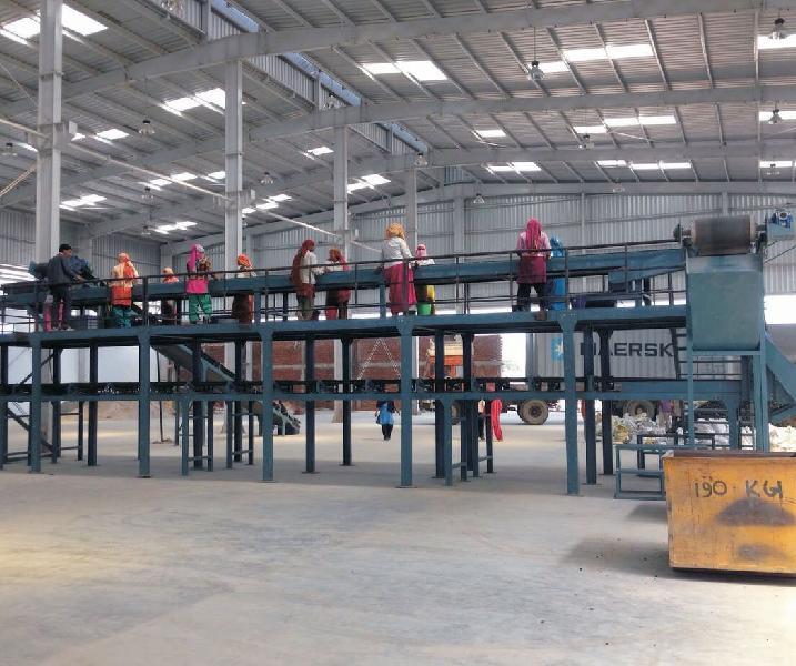 Mezzanine Floor Sorting Conveyor