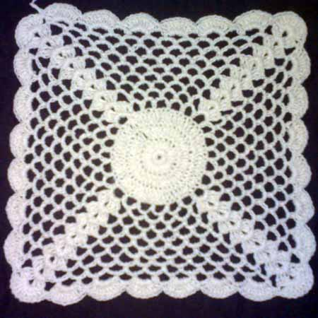 Buy Crochet Table Mats 02 From Padmavathi Handicrafts Narsapur