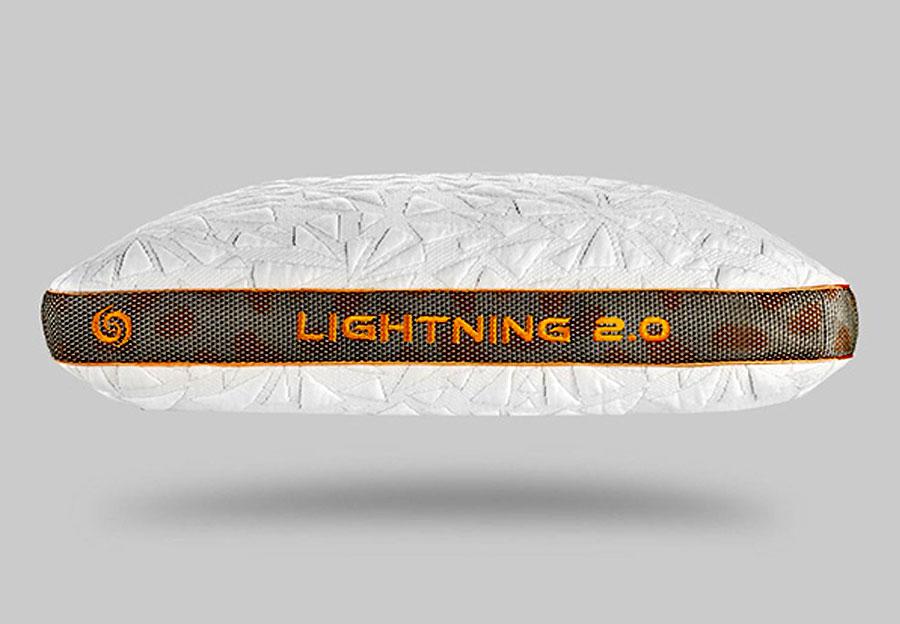 Bedgear Lightning Queen Back Sleeper Pillow