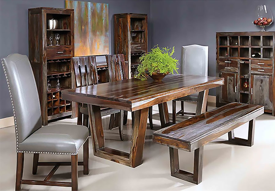 Buy Coast to Coast Grayson Sheesham Dining Table from Furniture