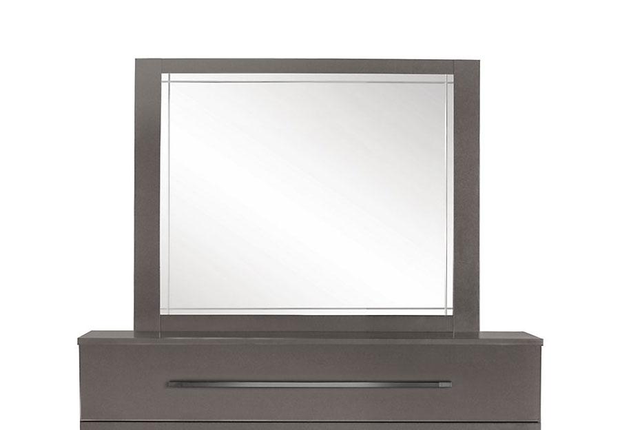 Buy Idea Italia Graphite Dimora Mirror From Furniture