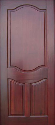 Mahogany Wood Door