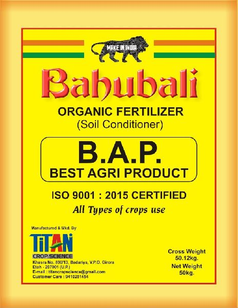 Buy Bahubali Organic Fertilizer from Titan Crop Science