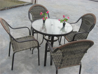 f663bc95bf4f Aluminium Chair Table Set Manufacturer in Delhi India by Shiva ...