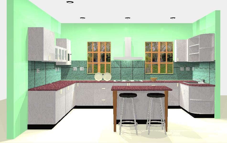 Modular Kitchen (001)