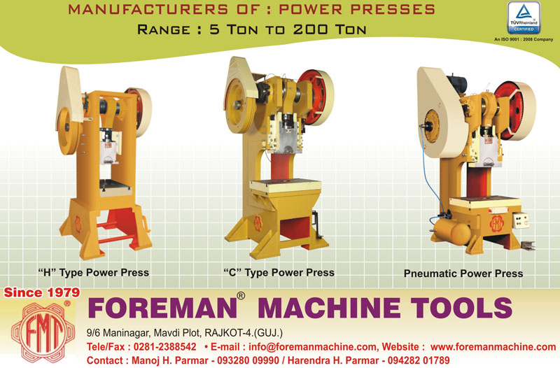 foreman machine