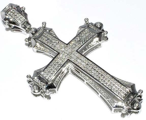 Diamond Cross Pendant (P0024)