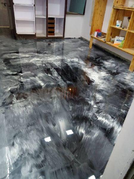 3D and Metallic Epoxy Flooring